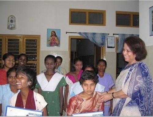 Year 2007: Girls Upliftment at Nirmala Bhavan