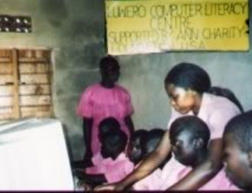 Year 2004: Computer center in Uganda