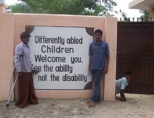 Year 2005: Mercy Home in Bangalore